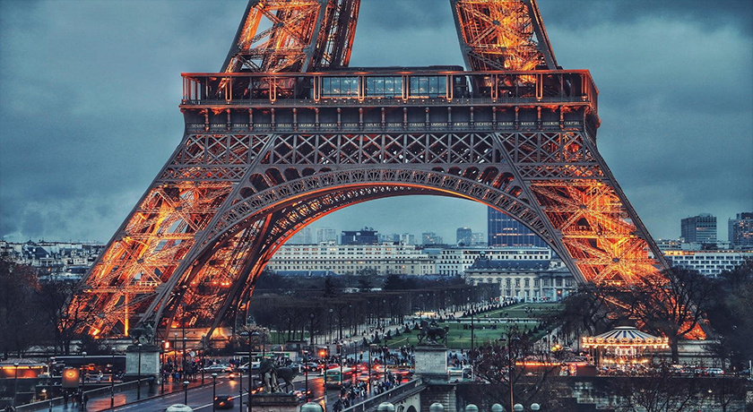 Cost to Travel Europe - Eiffel Tower